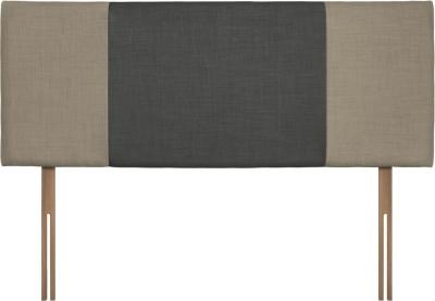 Seville Fudge and Granite Fabric Headboard