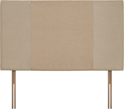 Seville Grand Beige and Oatmeal Fabric Headboard