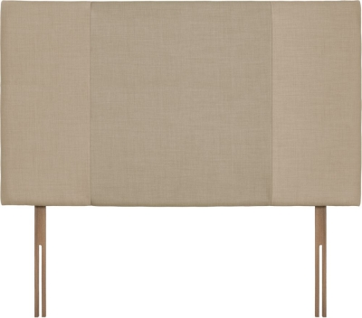 Seville Grand Beige and Sand Fabric Headboard