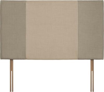 Seville Grand Fudge and Beige Fabric Headboard