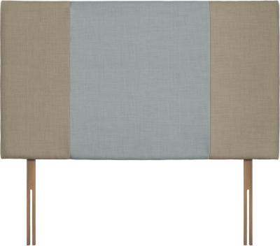 Seville Grand Fudge and Sky Fabric Headboard