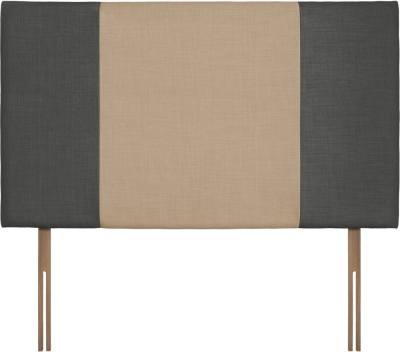 Seville Grand Granite and Oatmeal Fabric Headboard