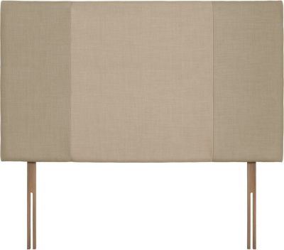 Seville Grand Sand and Beige Fabric Headboard