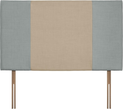 Seville Grand Sky and Beige Fabric Headboard