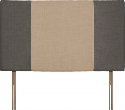 Seville Grand Slate and Oatmeal Fabric Headboard