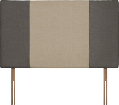 Seville Grand Slate and Sand Fabric Headboard