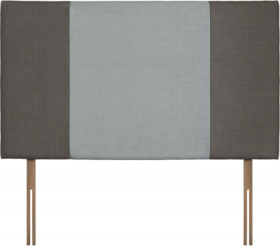 Seville Grand Slate and Sky Fabric Headboard