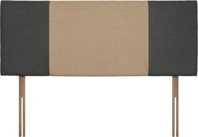 Seville Granite and Oatmeal Fabric Headboard