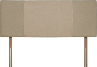 Seville Sand and Beige Fabric Headboard