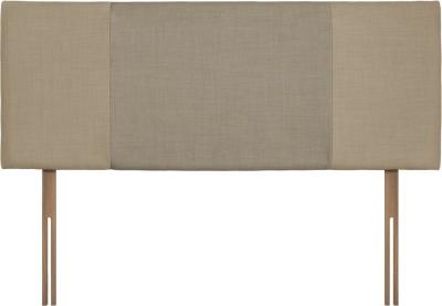 Seville Sand and Fudge Fabric Headboard