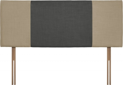 Seville Sand and Granite Fabric Headboard