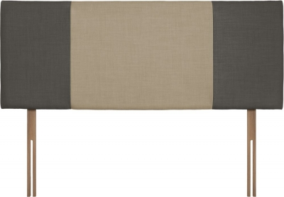 Seville Slate and Sand Fabric Headboard