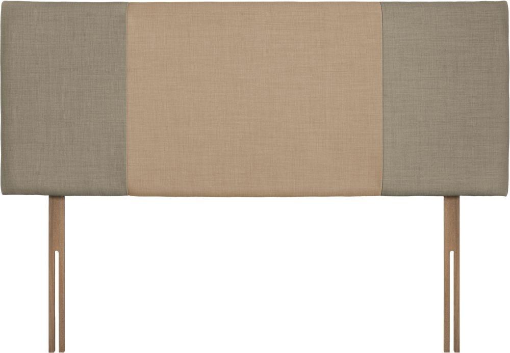 Seville Fudge and Oatmeal Fabric Headboard