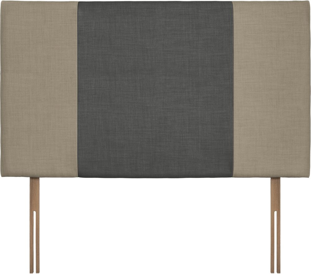 Seville Grand Fudge and Granite Fabric Headboard