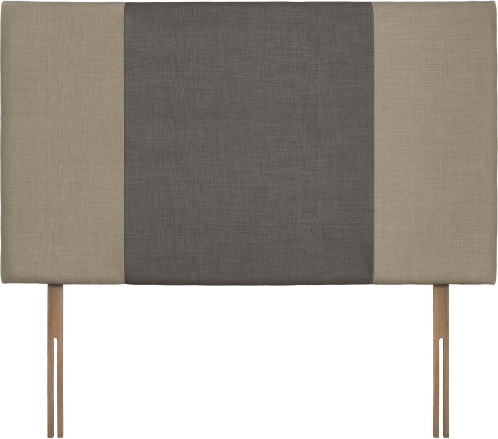 Seville Grand Fudge and Slate Fabric Headboard