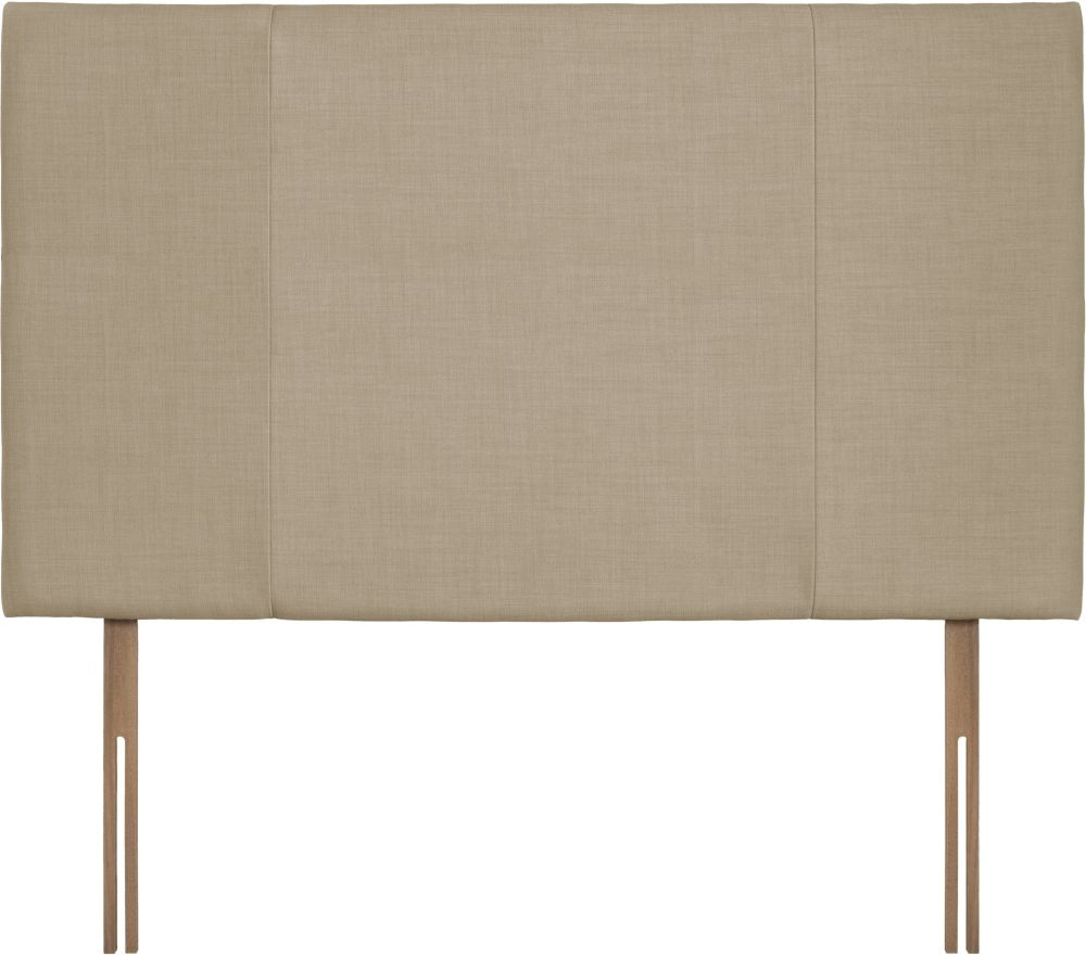 Seville Grand Sand Fabric Headboard