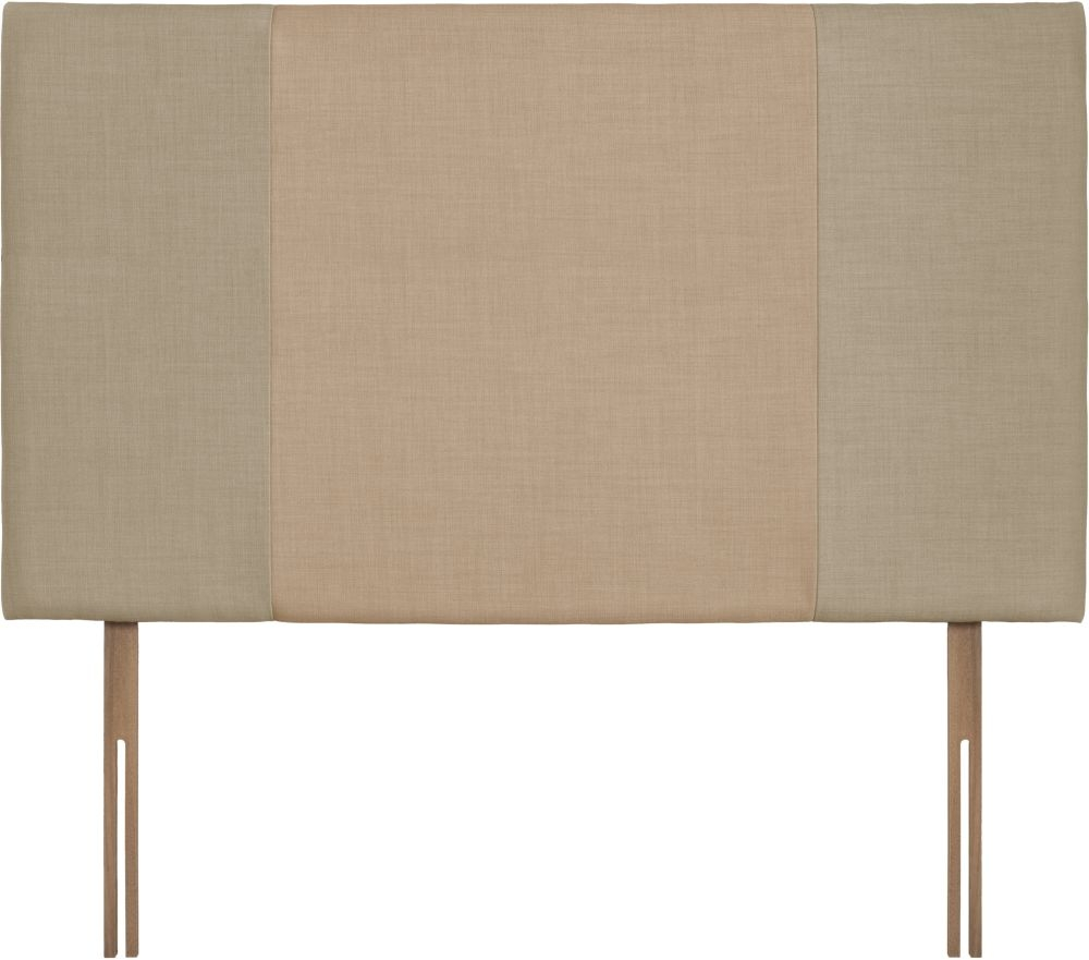 Seville Grand Sand and Oatmeal Fabric Headboard