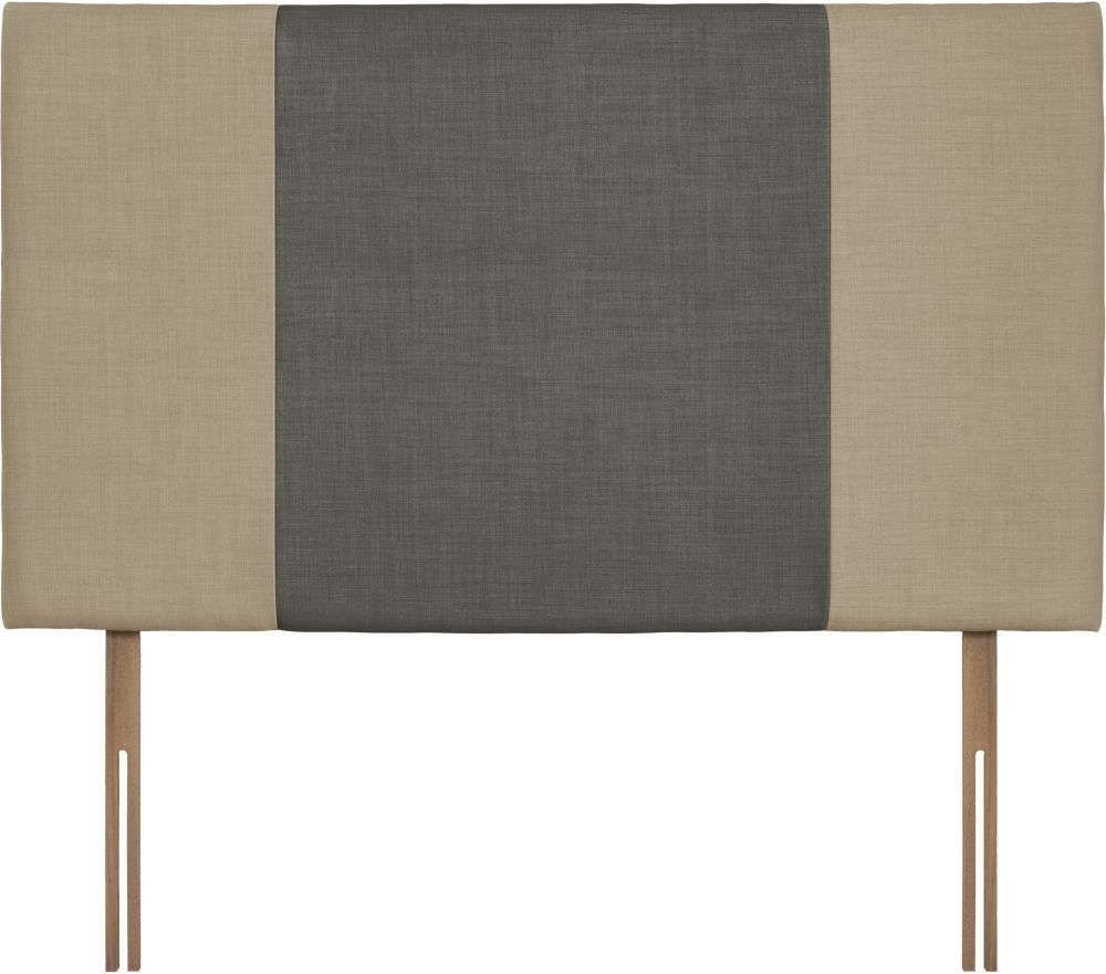 Seville Grand Sand and Slate Fabric Headboard