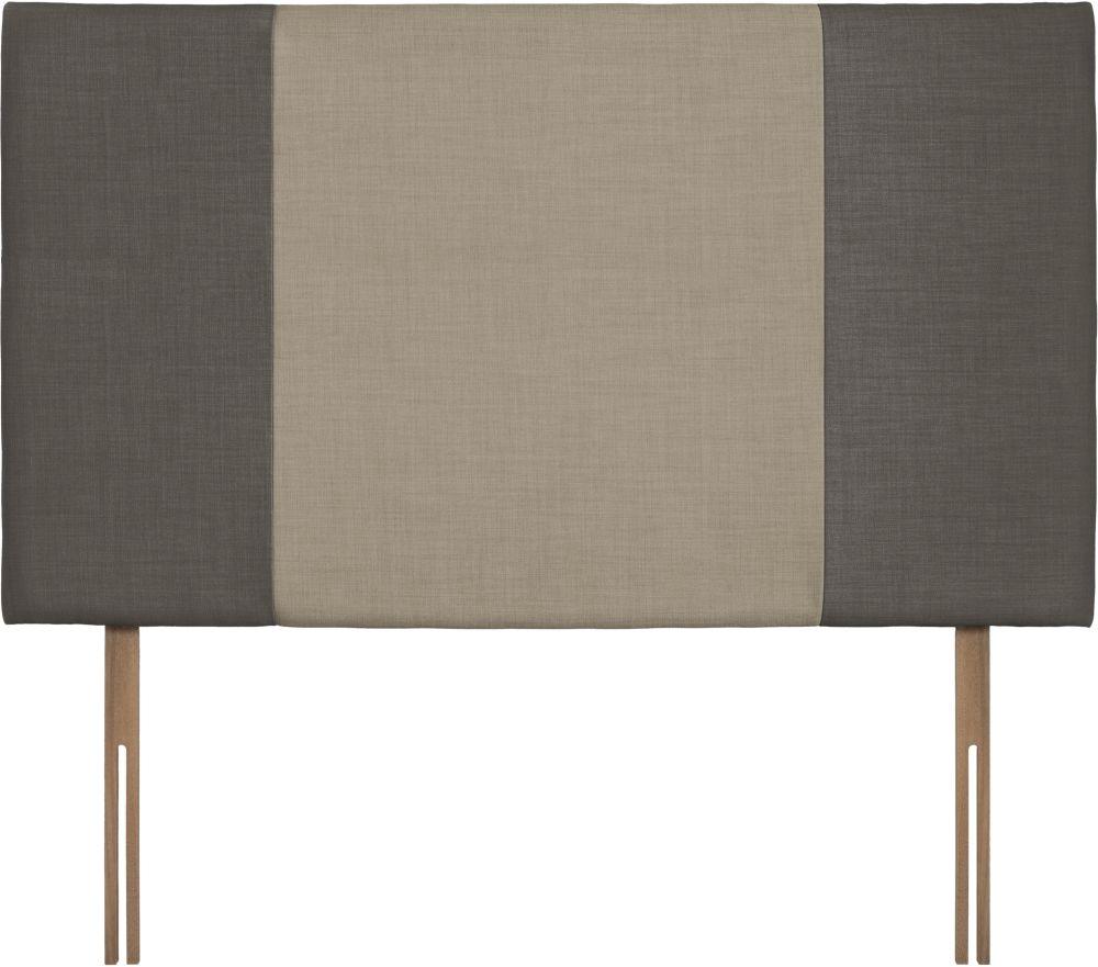 Seville Grand Slate and Fudge Fabric Headboard