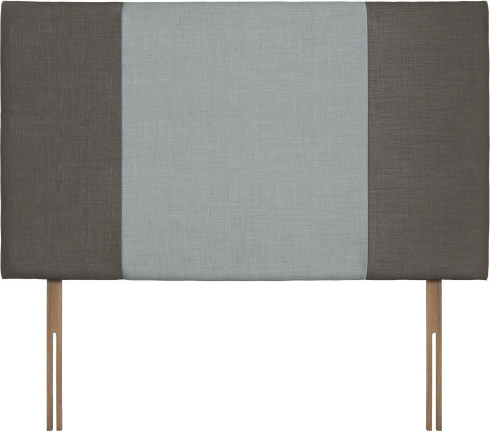 Seville Grand Slate and Sky Fabric Headboard