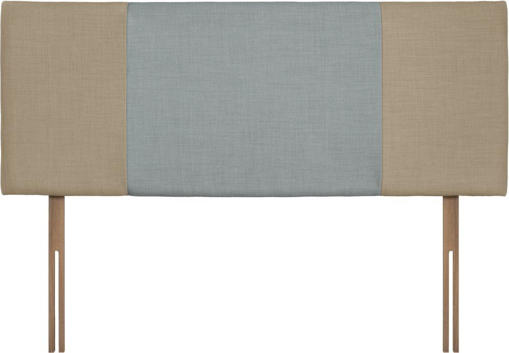 Seville Sand and Sky Fabric Headboard