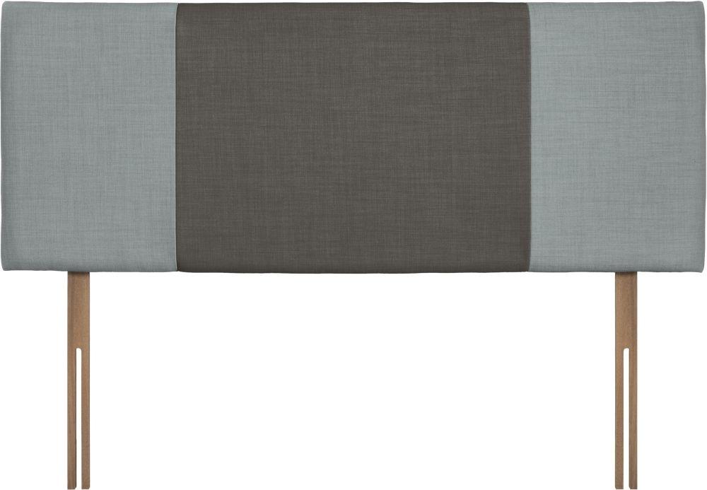 Seville Sky and Slate Fabric Headboard