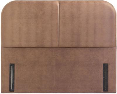 Abbey Floor Standing Fabric Headboard