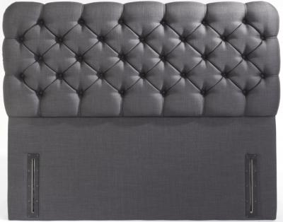 Lima Floor Standing Fabric Headboard
