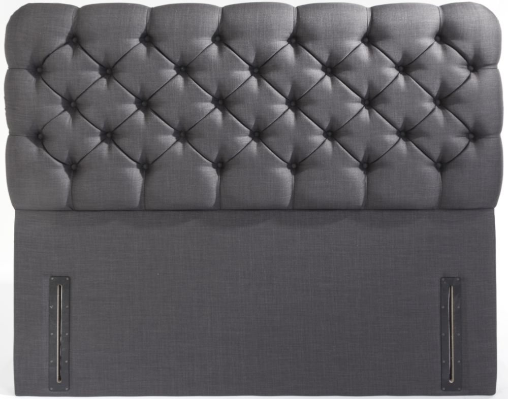 Lima Floor Standing Fabric Headboard