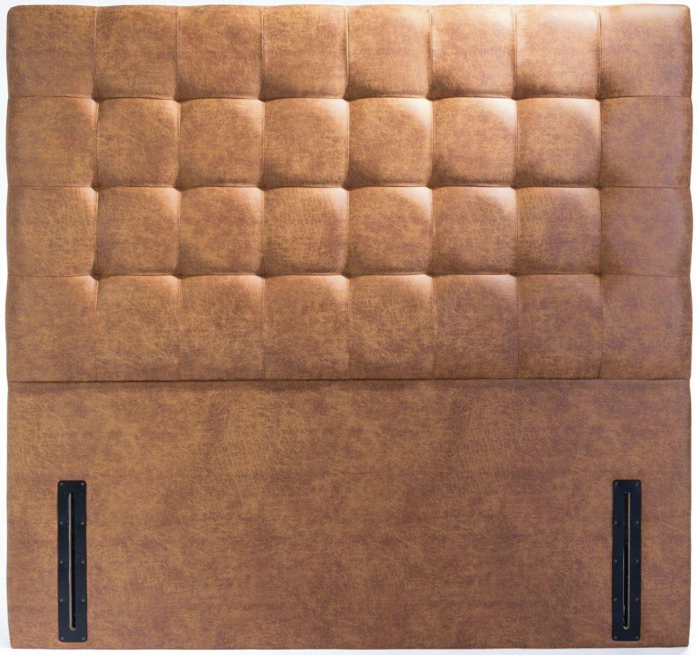 Viscount Floor Standing Fabric Headboard