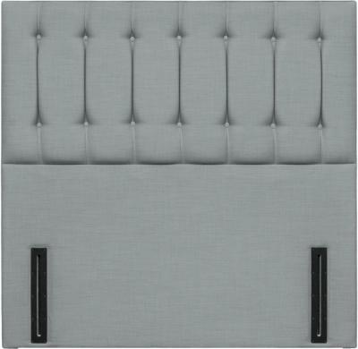 Tamar Grand Floor Standing Sky Fabric Headboard