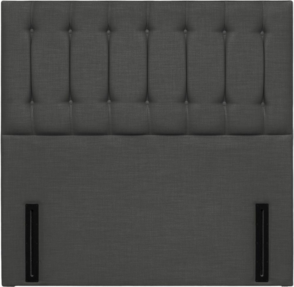 Tamar Grand Floor Standing Granite Fabric Headboard