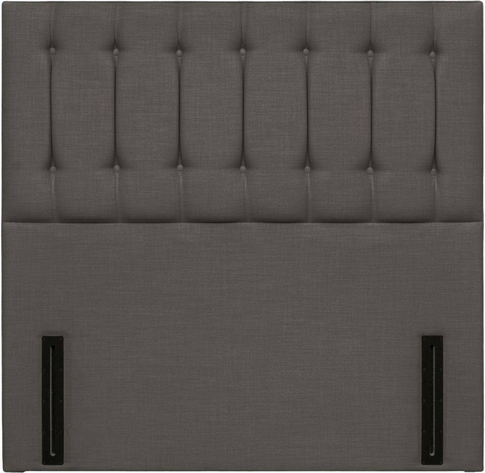 Tamar Grand Floor Standing Slate Fabric Headboard
