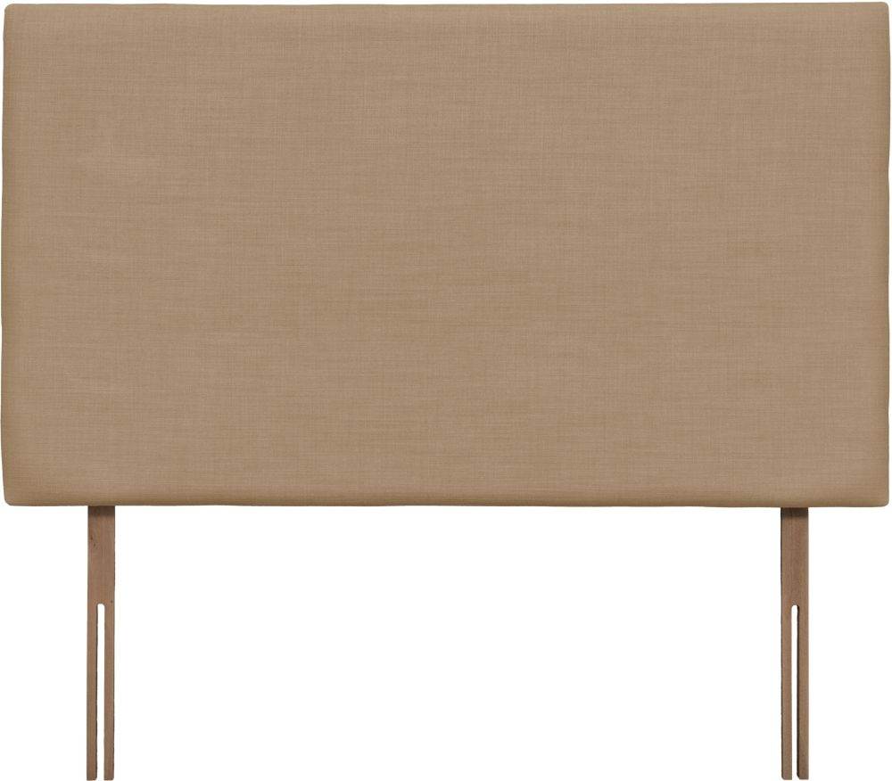 Taurus Grand Oatmeal Fabric Headboard