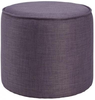Round Fabric Pouffe