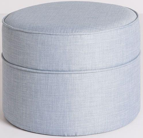 Wells Fabric Pouffe