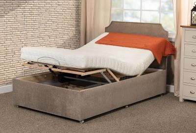 Sweet Dreams Latex Adaptable Adjustable Divan Bed