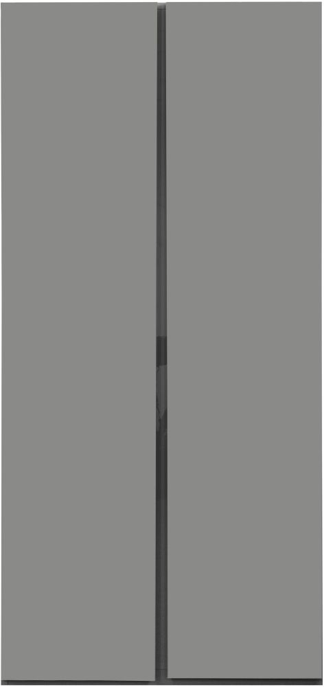 Sweet Dreams Carlyle High Gloss Grey 2 Door Wardrobe