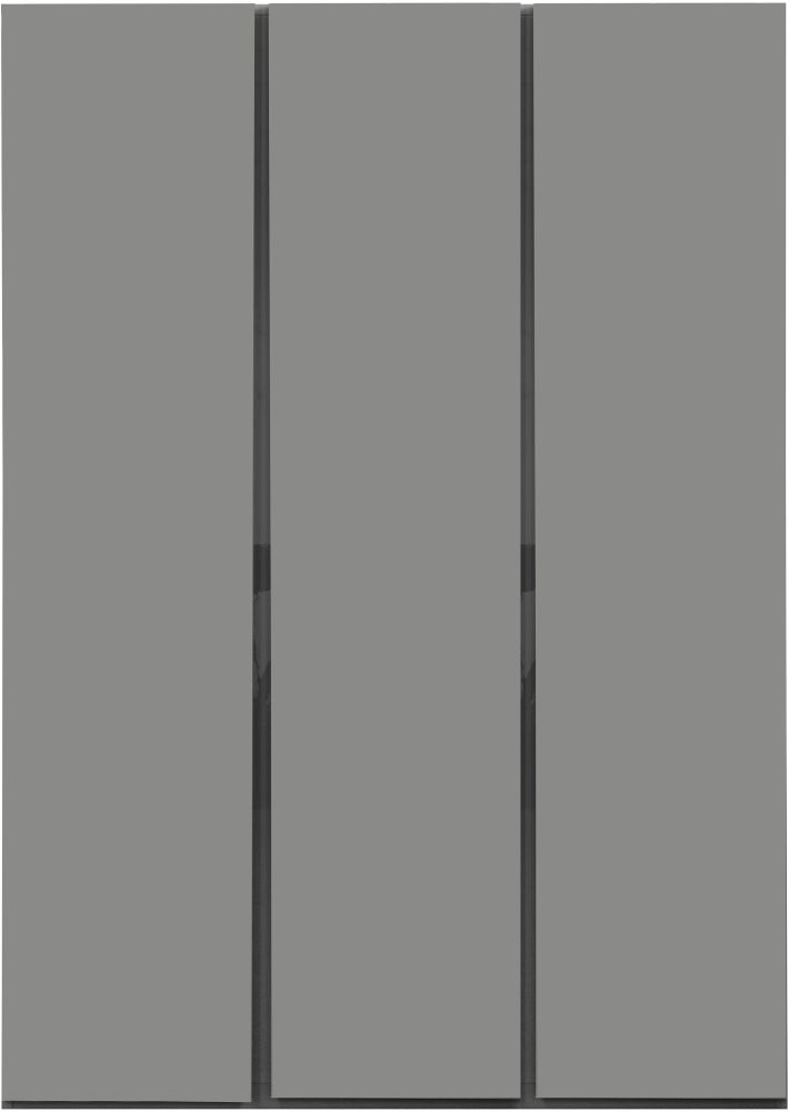 Sweet Dreams Carlyle High Gloss Grey 3 Door Wardrobe