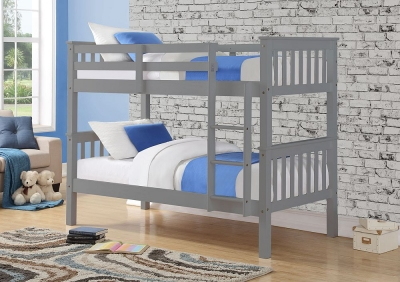 Sweet Dreams Casper Grey Bunk Bed