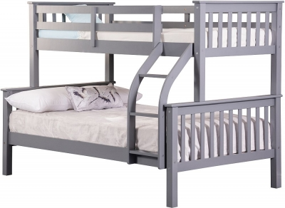Sweet Dreams Connor Grey Bunk Bed