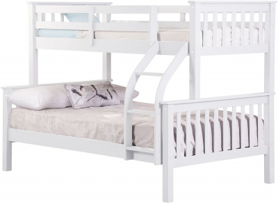 Sweet Dreams Connor White Bunk Bed