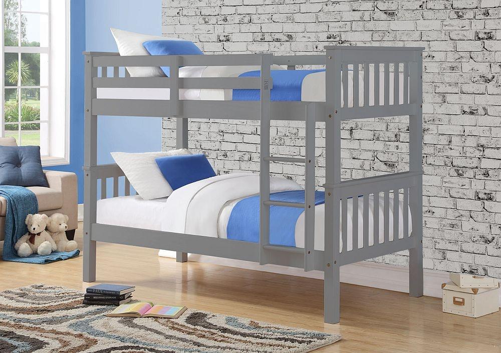 Sweet Dreams Casper Grey Bunk Bed