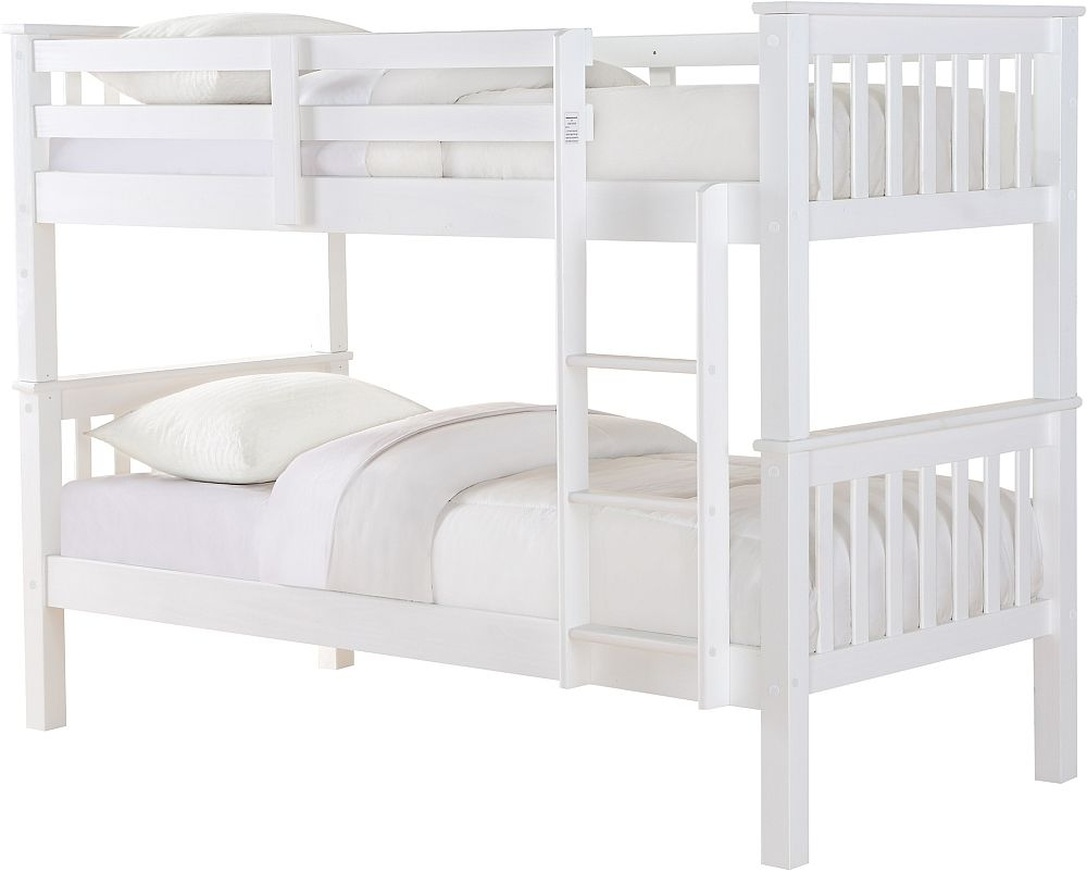 Sweet Dreams Casper White Bunk Bed