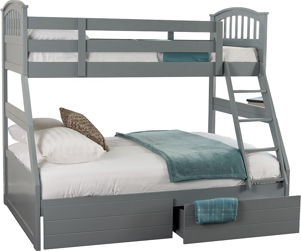 Sweet Dreams Epsom Grey Bunk Bed