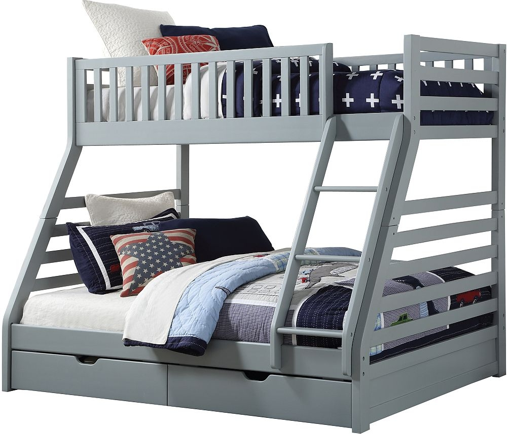 Sweet Dreams States Grey Bunk Bed
