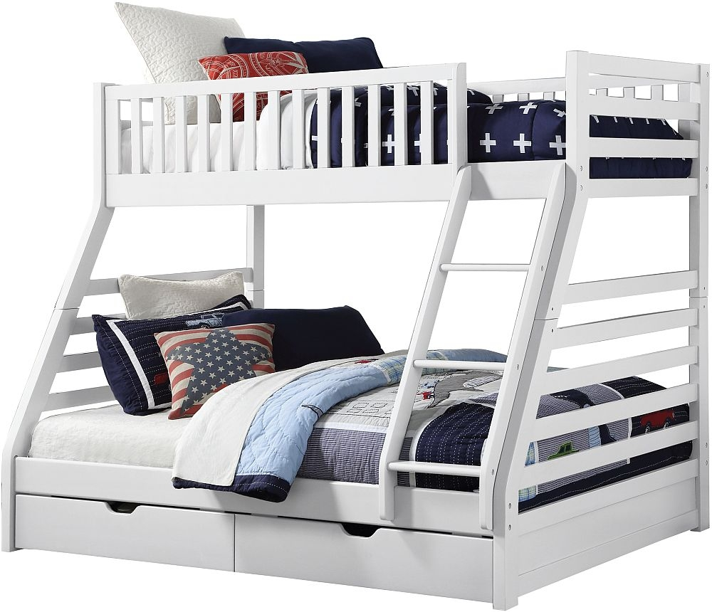 Sweet Dreams States White Bunk Bed
