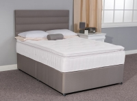 Sweet Dreams Manor Pillow Top Sleepzone Spring Divan Bed