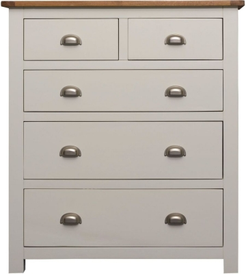 Sweet Dreams Cooper Cream 5 Drawer Chest