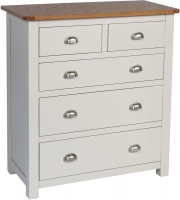 Sweet Dreams Cooper Grey 5 Drawer Chest
